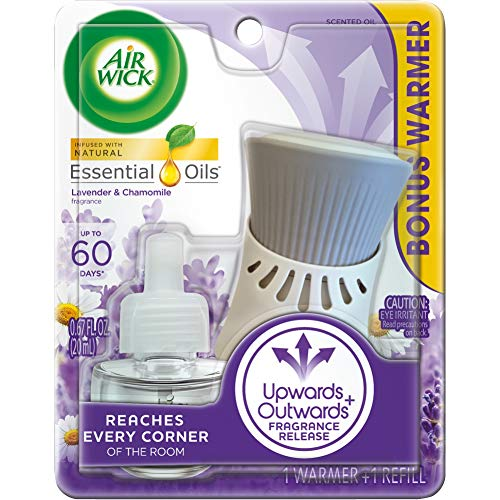 cheap Airwick cork with flavor oil, starter kit, 1 ct of lavender and chamomile, essential oil, air …