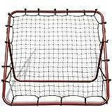 Festnight Soccer Football Rebounder Net Training Equipment 100 x 100 cm