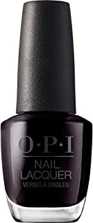 OPI Nail Lacquer Nagellak in zwarte tinten met tot 7 dagen houvast, duurzaam, splinterbestendig, 15 ml