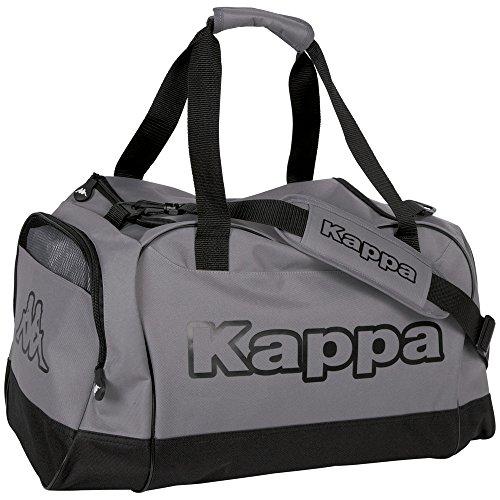 Kappa TOMAR Sport-Tasche silber I Trainings-Tasche mit Trockenfach & Schuhfach I für Männer & Frauen, Größe  60cm x 30cm x 39cm