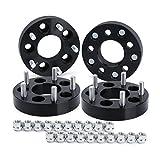 5x4.5 to 5x5 Wheel Adapters for J-e-ep Jk Wk Wj Xk Wheels on Tj Yj Kk Xj Mj Kj Zj (4pcs), Dynofit 5x114.3mm to 5x127mm 1.25' Forged Conversion Wheel Spacers 1/2' Thread, Bolts Pattern Changed Adapter