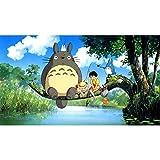 Haushele OFD Japanische Anime Totoro Serie Poster Theme
