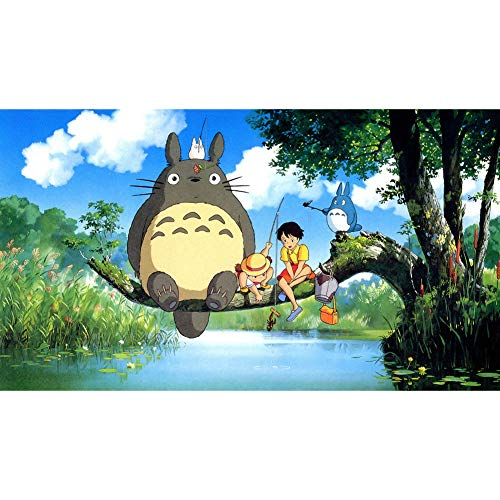 Haushele OFD Japanische Anime Totoro Serie Poster Theme Scroll Malerei Home Decoration Poster Sammlung