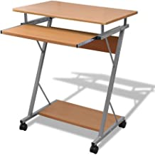 Tidyard Computer Desk Pull Out Tray Furniture Office Student Table Computer Gaming Desk PC Table Laptop Desk Corner Desk H...
