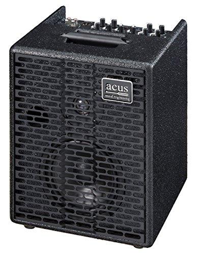 Acus Sound Engineering 03000602 OneforStrings 6T Acoustic Guitar Amplifier - Black