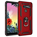 BestST LG K50S Case, LG K50S phone case [Tough Armor] with