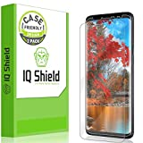 IQ Shield Screen Protector Compatible with Galaxy S9 (2-Pack)(Case Friendly) Anti-Bubble Clear Film