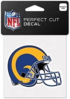 Wincraft NFL Los Angeles Rams Retro Aufkleber, perfekt geschnitten, mehrfarbig, 10,2 x 10,2 cm