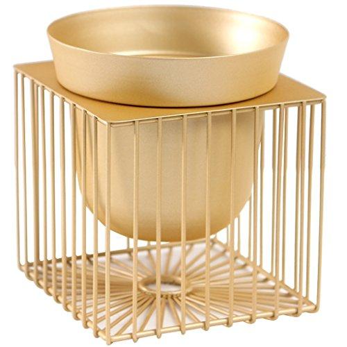 BR Support de pot de fleur de bureau or géométrique créatif salon fleur Pot Rack