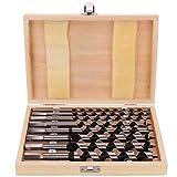 8 unids/set 6/8/10/12/14/16/18 / 20mm longitud 230mm madera barco barrena broca carpintero albañilería carpintería cortadores de sierra con caja