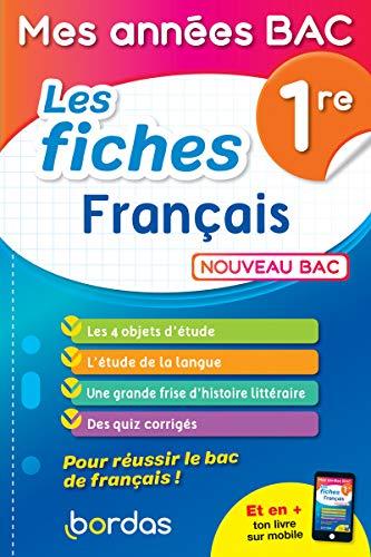 Mes années BAC - Fiches Français 1re