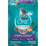 Purina ONE Natural Dry Cat Food, Hairball Formula - 16 lb. Bag