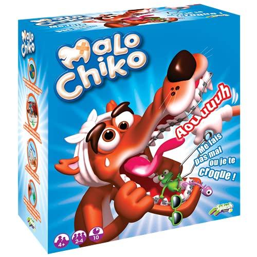 Splash Toys - Malo Chiko - Jeu Enfants Famille - Dès 4 ans - Jeu D'action Et De Réflexe