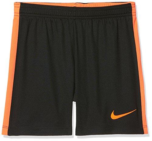 Nike - Dry Academy - Short de Foot - Mixte Enfant - Noir (Black/Cone) - Taille: M