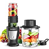 Smoothies Blender/Smoothies Bottle, FOCHEA Personal Blender Single Serve Small Blender for Juice...
