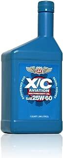 Phillips 66 X/C Aviation Oil 25w-60 Engine Oil - 12/1 qt. case