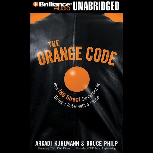 The Orange Code audiobook cover art