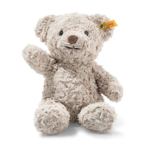 Steiff 113420 Soft Cuddly Friends Honey Teddybär, grau, 28 cm