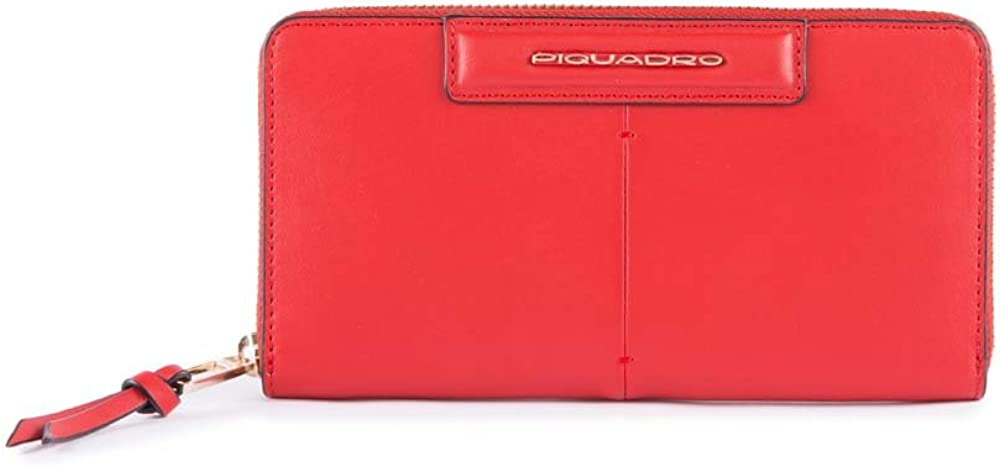 Piquadro splash , portafoglio per donna , in vera pelle PD1515SPLR/GSA