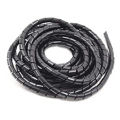 Administrador de cable 4mm-30mm Blanco / Negro cable de alambre de arrollamiento...