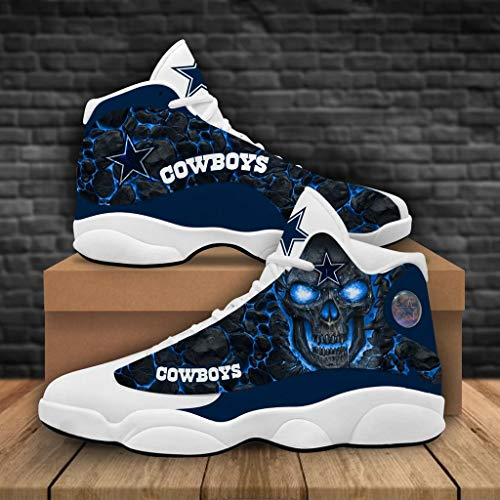 Go Shop Football Team Cowboys Sneaker Running Shoes Sneakers for Wowen and Men (Men 14 / EU 48)
