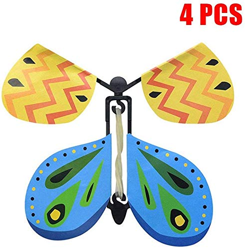 Lanbowo Volador Mariposa Infantil Novela Magia Accesorios