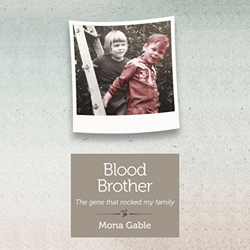 Blood Brother audiobook cover art