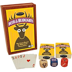 University Games Front Porch Classics Deer In The Headlights Game-