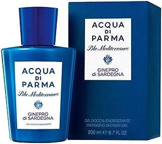 アクア?ディ?パルマブルーメディGineproのディサルデーニャシャワージェル200ミリリットル (Acqua di Parma) (x6) - Acqua di Parma Blu Mediterraneo Ginepro Di Sardegna Shower Gel 200ml (Pack of 6) [並行輸入品]