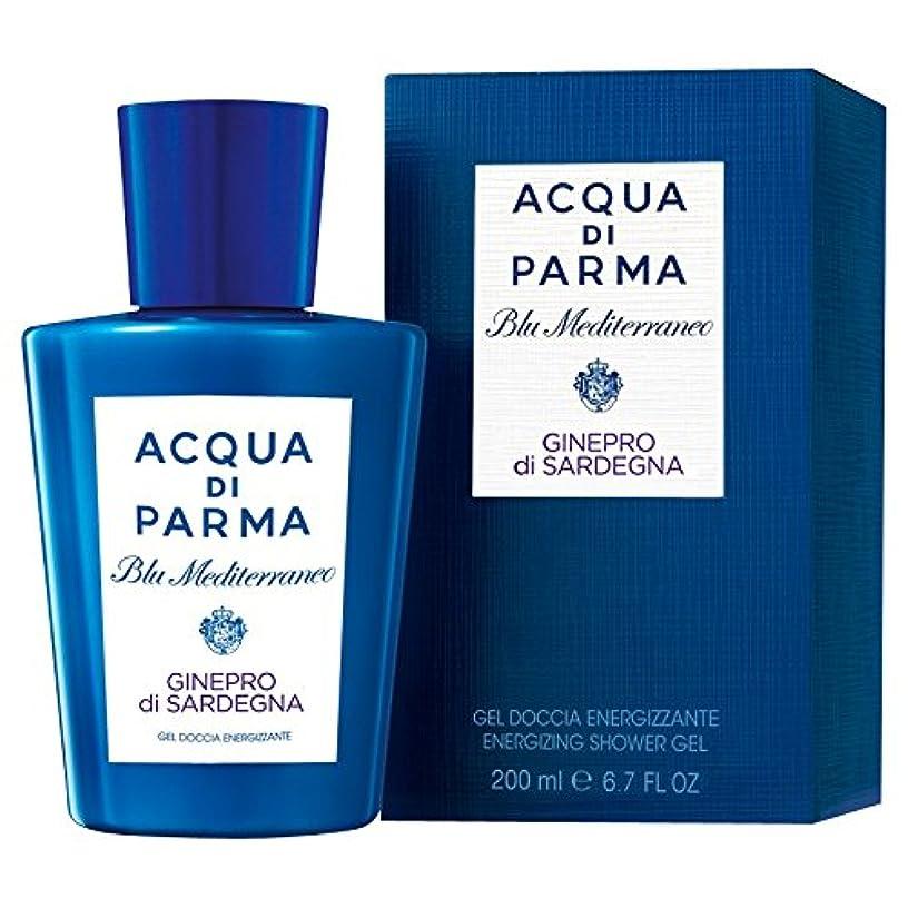 生ケーブルカー傾いたアクア?ディ?パルマブルーメディGineproのディサルデーニャシャワージェル200ミリリットル (Acqua di Parma) - Acqua di Parma Blu Mediterraneo Ginepro Di Sardegna Shower Gel 200ml [並行輸入品]