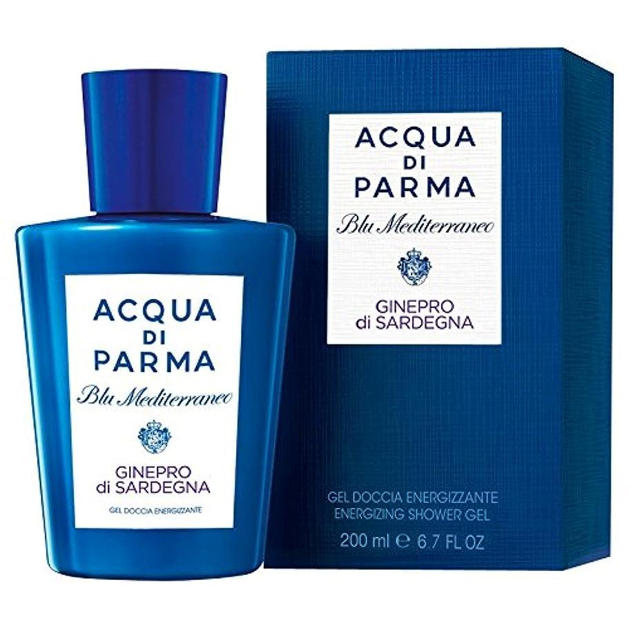 引き算精神通知するアクア?ディ?パルマブルーメディGineproのディサルデーニャシャワージェル200ミリリットル (Acqua di Parma) - Acqua di Parma Blu Mediterraneo Ginepro Di Sardegna Shower Gel 200ml [並行輸入品]