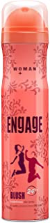 Engage Blush Deodorant For Women, Fruity and Floral, Skin Friendly, 150 ml