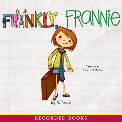 Frankly, Frannie audiobook cover art