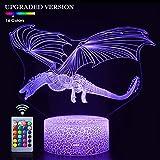 Seven Lady Dragon 3D Night Lamp
