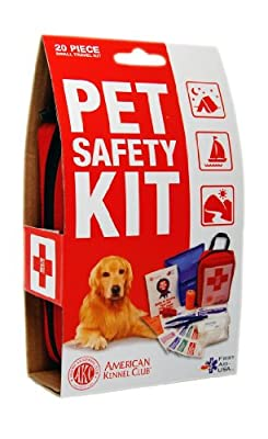 AKC Pet First Aid Kit, Red from Rayco International Ltd.