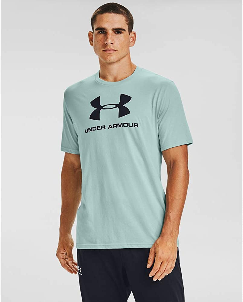 Under Armour Camiseta de Manga Corta UA Sportstyle Logo Camisa Hombre