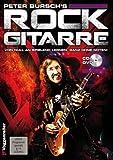 Peter Bursch - Guitarra Rock (incluye CD y púa (banda 1), para aprender desde cero sin notas con canciones de rock de Jimi Hendrix, Van Halen y AC/DC (libro de bolsillo)