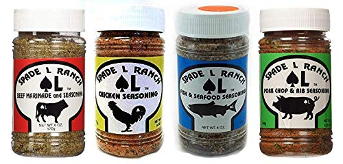 Spade L Ranch, Variety Pack, Marinade and Seasoning 6 Oz. (1)