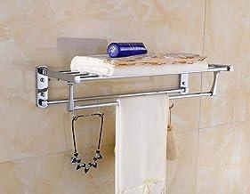 MBYW moderne minimalistische hoge dragende handdoek rek badkamer handdoekenrek 304 roestvrij staal handdoek rek/opklapbare...
