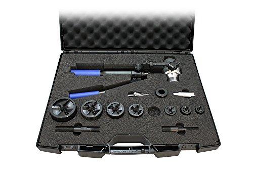 icotek Stanzwerkzeug Set PRO 16-63 mit Blechlocher-Satz, Art-Nr. 80006, metrisch M16, M20, M25, M32, M40, M50, M63 80006