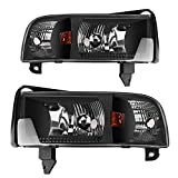 Best Headlights - AUTOSAVER88 Headlight Assembly Compatible with 94-01 Dodge Ram Review