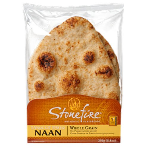 Stonefire Tandoori Naan, Whole Grain (6 pack)
