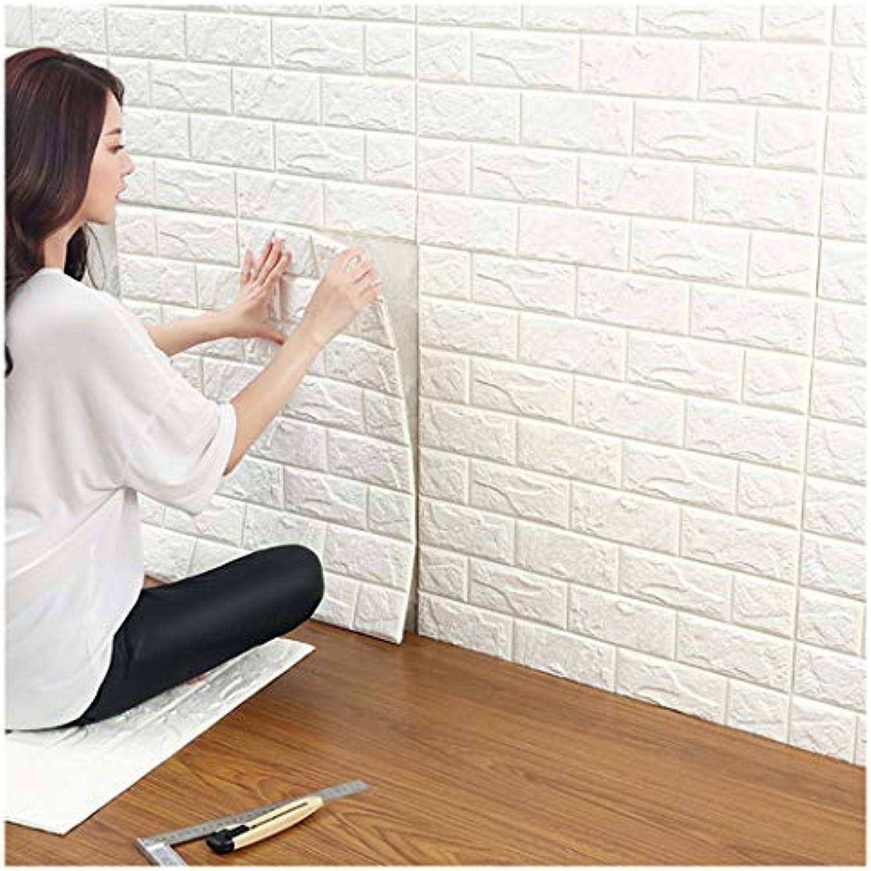 3D Ziegelstein Tapete,Selbstklebend Brick Muster Tapete ...