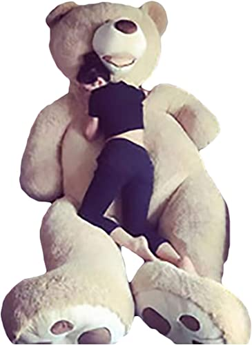 Teddyb Teddy Bear Plüsch Handgefertigt Netter Entwurf Kein Geruch Es Ist eine PlüSchpuppe Super Weißer PlüSch Und PP-Baumwollpolsterung 100340CM Ist Eine Perfekte Wahl,XL