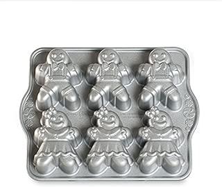 Nordic Ware 86948 Gingerbread Kids Cakelet Pan