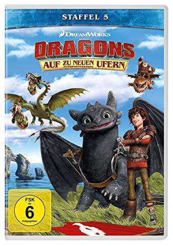 Dragons - Auf zu neuen Ufern: Staffel 5 (4 DVDs)