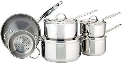 Meyer 10 Piece Cookware Set [Encapsulated]