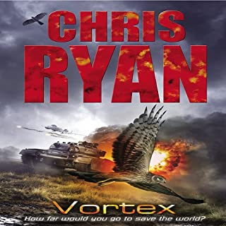 Vortex     Code Red, Book 4              By:                                                                                                                                 Chris Ryan                               Narrated by:                                                                                                                                 Rupert Degas                      Length: 3 hrs and 2 mins     7 ratings     Overall 3.3