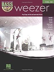 Bass Play-Along Vol.24 Weezer + Cd