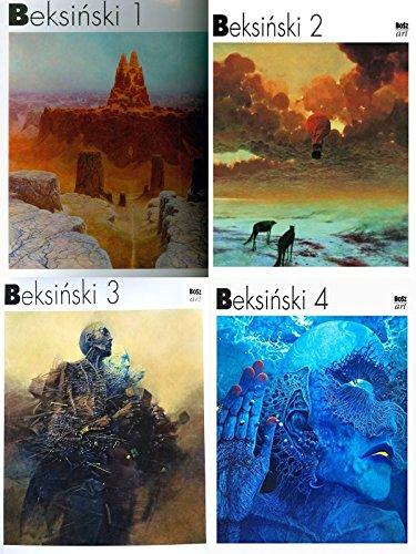 Beksinski volume 1-4 a complete series